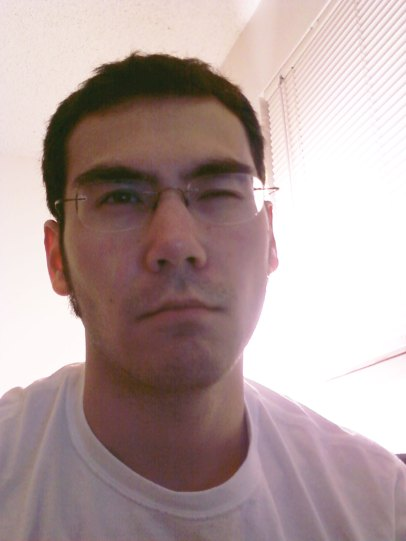 """To all the ladies out there: This is Azn Badger's """"1 AM Man-Face.""""  If you are seeing this it means come bearing back rub or get the fuck out."""