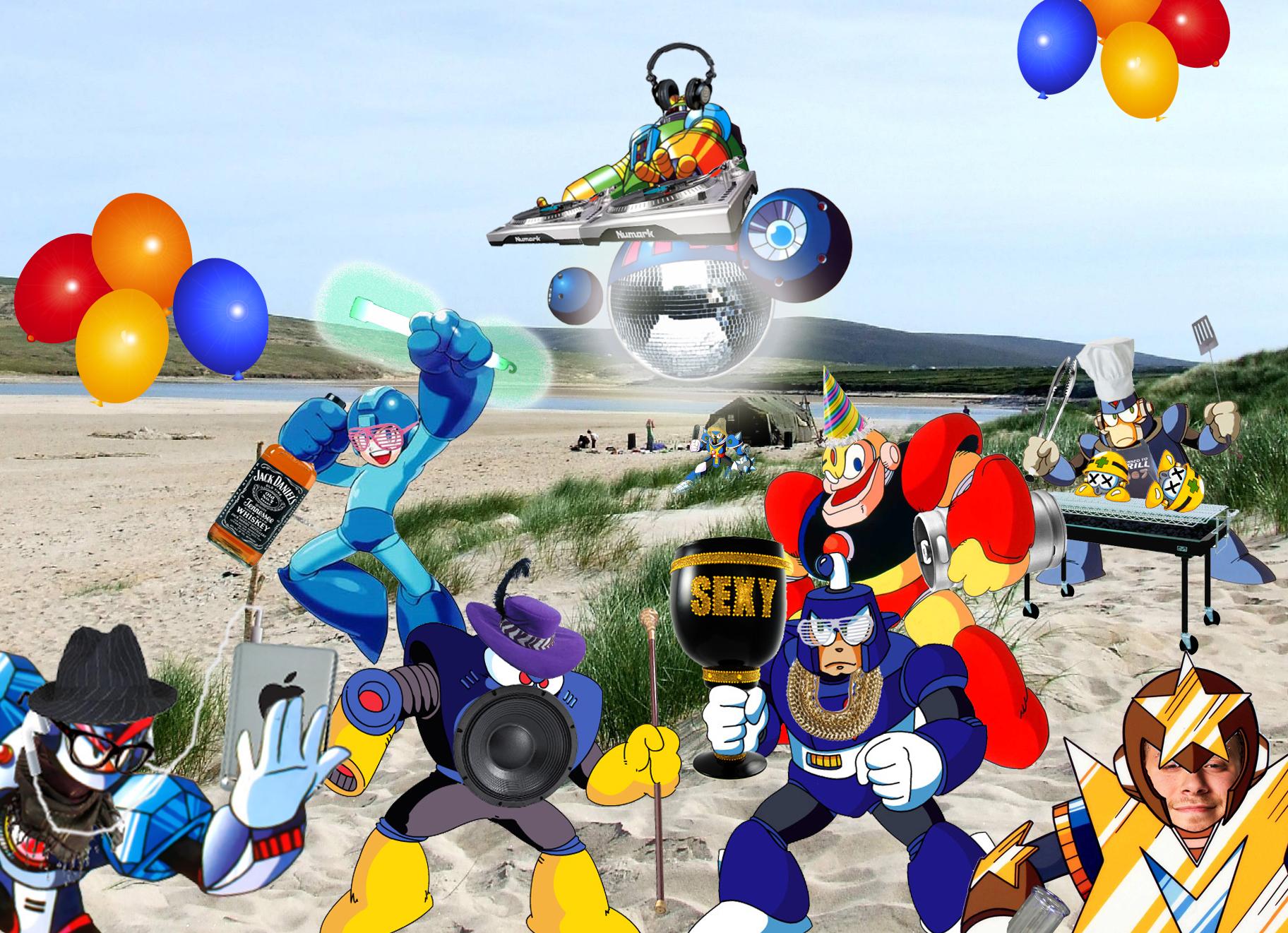Bass And Treble Megaman 8 Bit