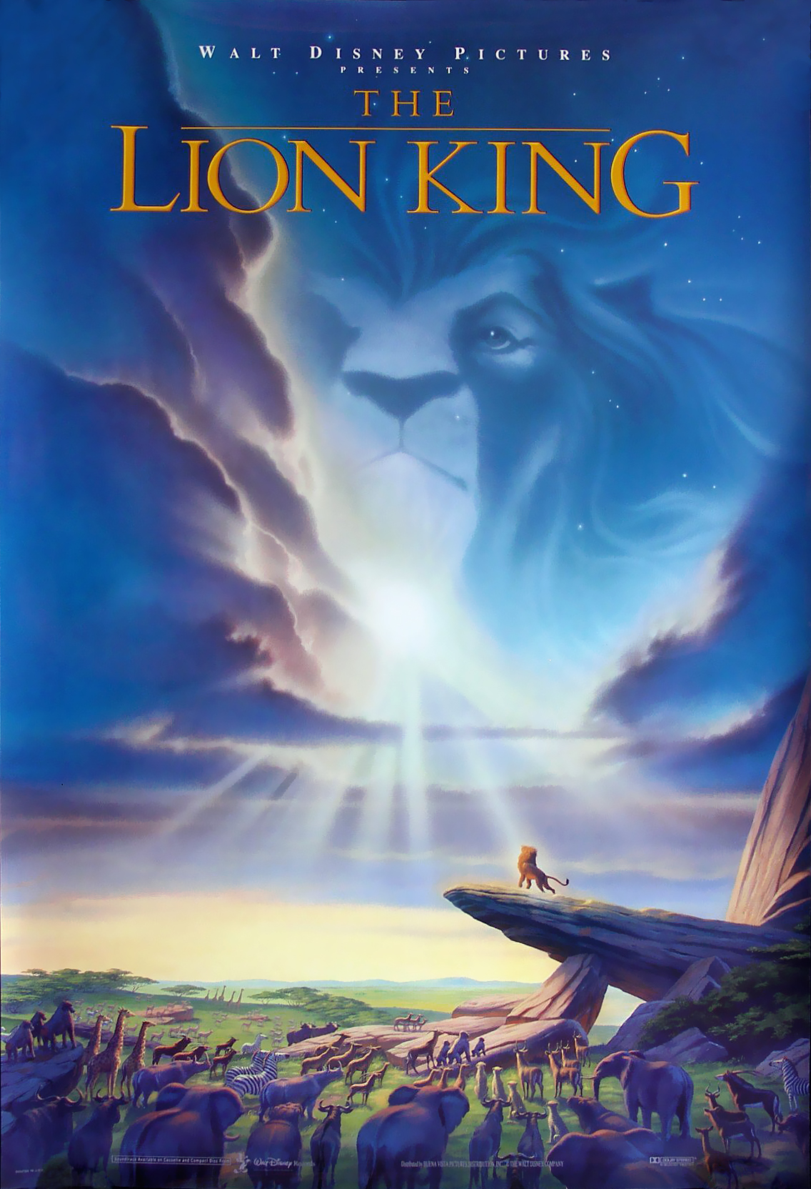 Lion King Theatrical Poster