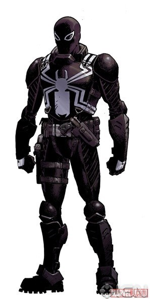 Apparently the story has the Venom symbiote being worn by a new host,
