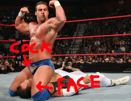 Alex wright wrestler penis size