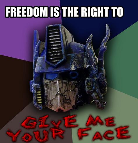 Megatron kills optimus prime g1